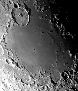 mares lunares descubiertos por galileo galilei