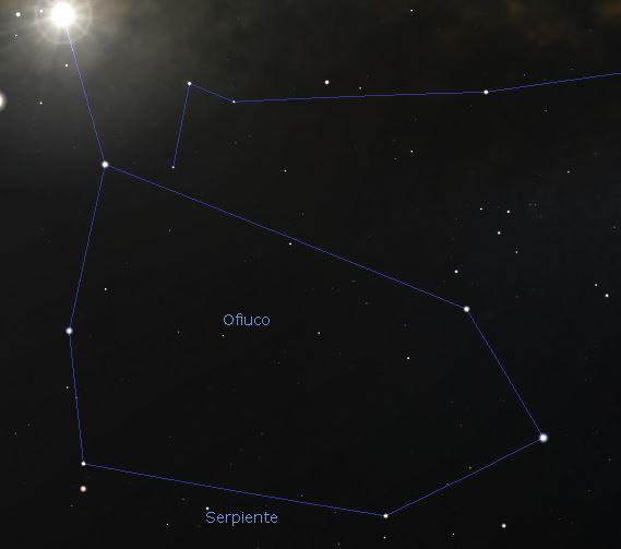 constelacion ofiuco