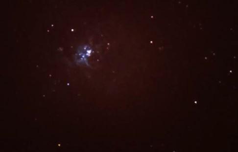 nebulosa de la tarantula con un astromaster 130
