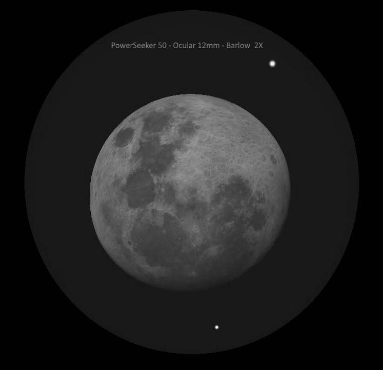 luna vista con powerseeker 50