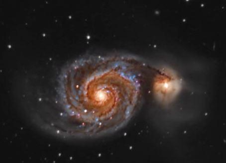 galaxia espiral omegon 200 1000